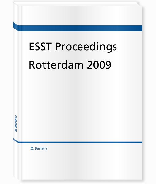 ESST Proceedings Rotterdam 2009