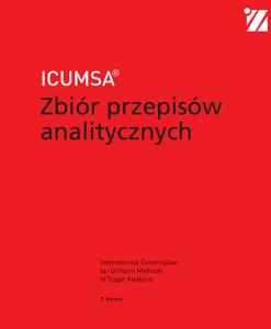 ICUMSA Zbior przepisow analitycznych