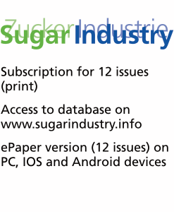 Sugar Industry Journal