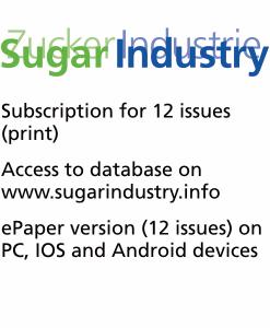 Sugar Industry Journal