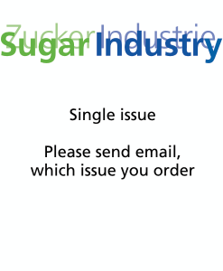 Sugar Industry Journal Single Issue